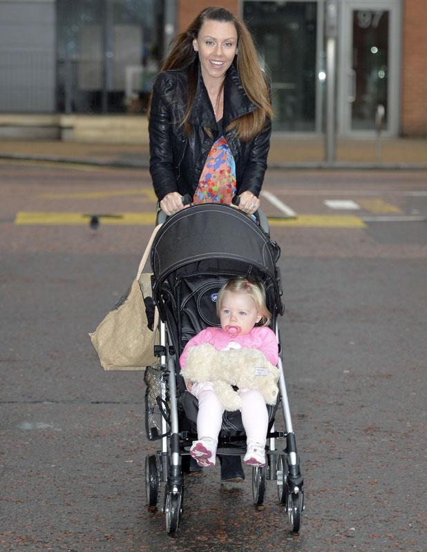 Michelle Heaton outside ITV studios, London, Britain - 12 Sep 2013