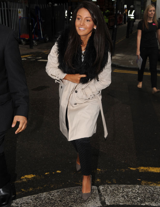Michelle Keegan opens a new Sally store on New Oxford Street, 12 September 2013