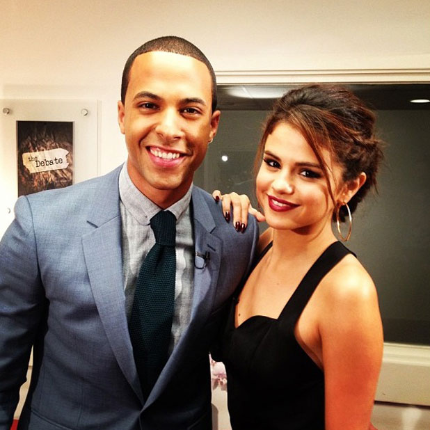 Selena Gomez is interviewed by Marvin Humes for Daybreak, 9 September 2013