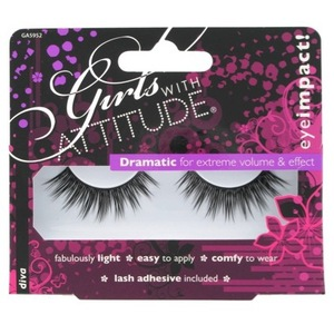 Girls With Attitude Lashes in Diva, £5