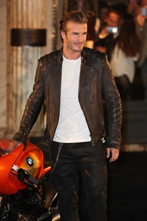 The Belstaff House & Celebrity Photocall and Motobike Parade - 15.9.2013 David Beckham