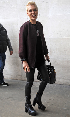 Jessie J arrives at Radio 1 - 19 september 2013