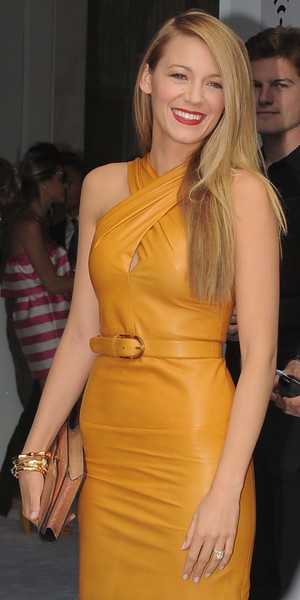 Blake Lively arrives at Gucci during Milan Fashion Week - 18 September