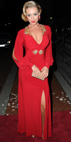 Catherine Tyldesley attends the Great Gatsby-themed Manchester Evening News Diary Party at The Lowry Hotel. Manchester, September 20 2013