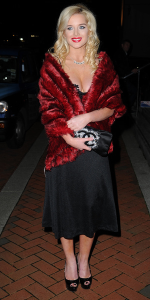 Helen Flanagan attends the Great Gatsby-themed Manchester Evening News Diary Party at The Lowry Hotel. Manchester, September 20 2013