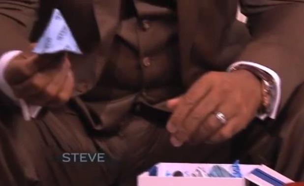 Michael Bublè on the Steve Harvey show - 19 September 2013