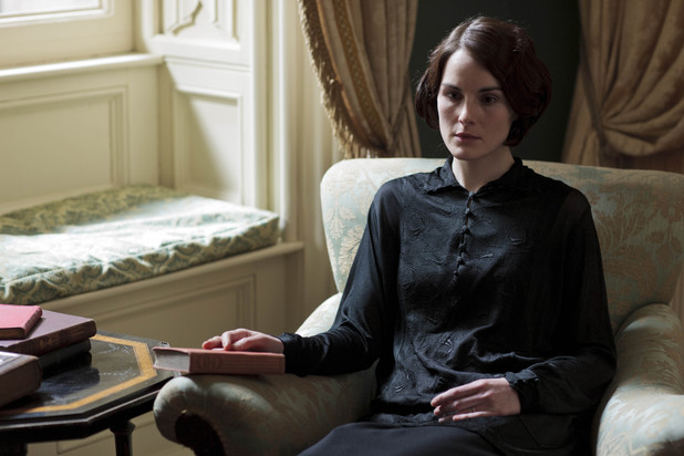 Downton Abbey, Sun 22 Sep, Mary grieves for Matthew.