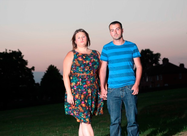 Hannah and Nathan were devastated to discover their baby had been buried in a mass grave