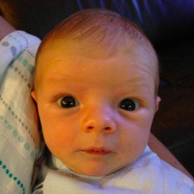 Fergie posts super-cute picture of newborn son Axl Duhamel, Sept 21 2013