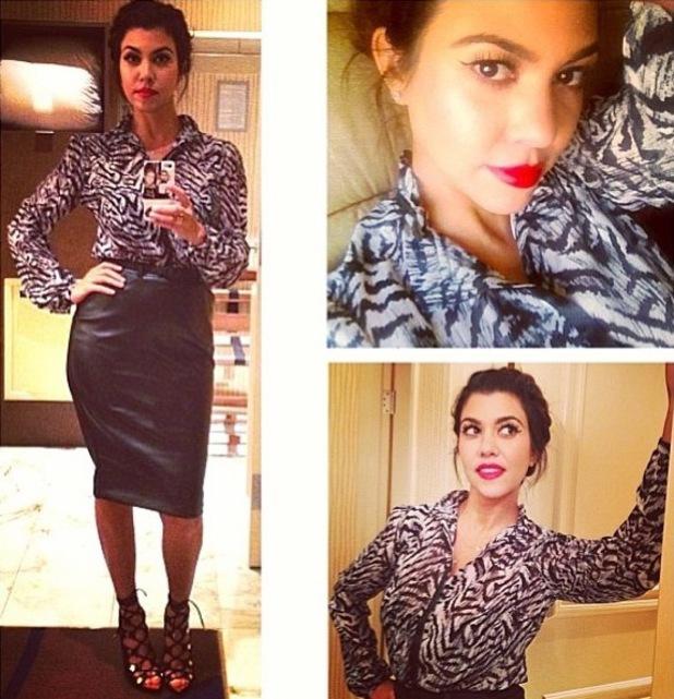 Khloe Kardashian flies to Las Vegas with sister Kourtney - 18.9.2013