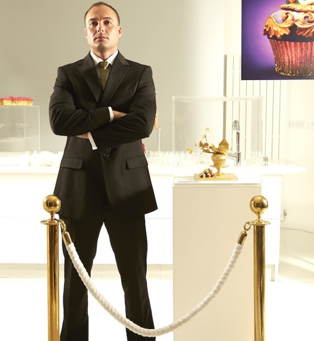 World's most expensive cupcake goes on display in London - 17 September 2013