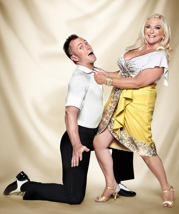 Strictly Come Dancing official couples photos: James Jordan, Vanessa Feltz
