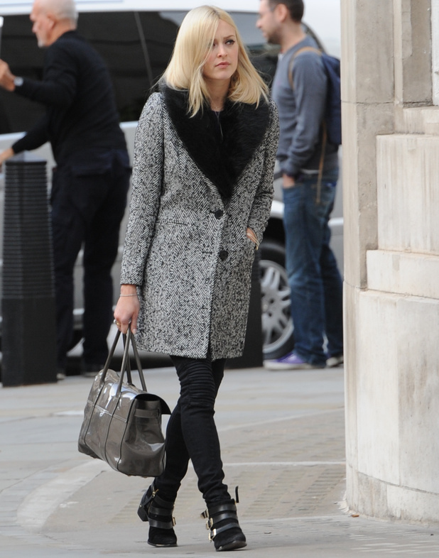 Fearne Cotton at the BBC Radio One Studios - 17 September 2013
