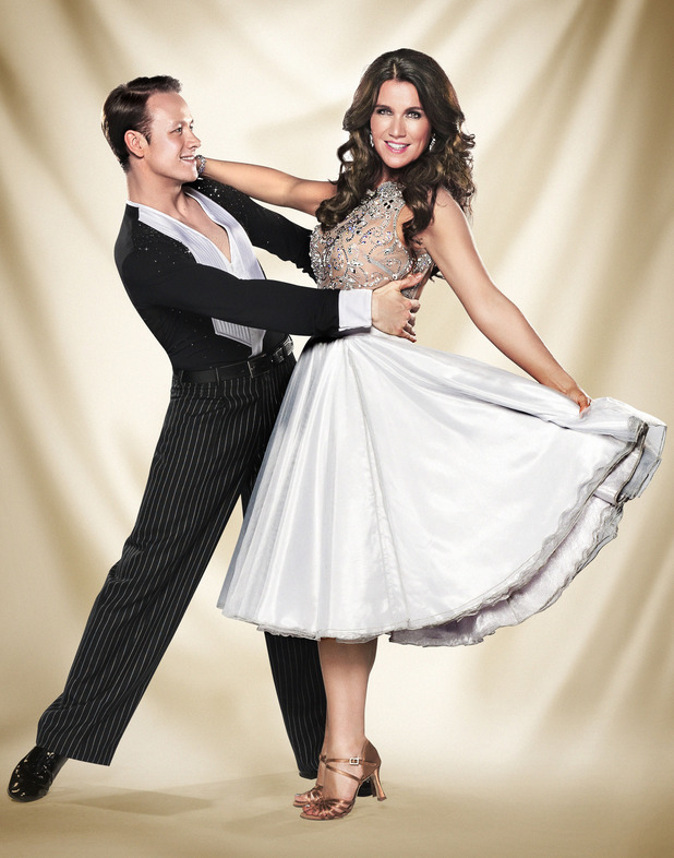 Strictly Come Dancing official couples photos: Kevin Clifton, Susanna Reid