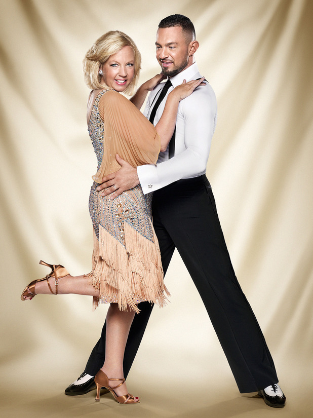 Strictly Come Dancing official couples photos: Deborah Meaden, Robin Windsor