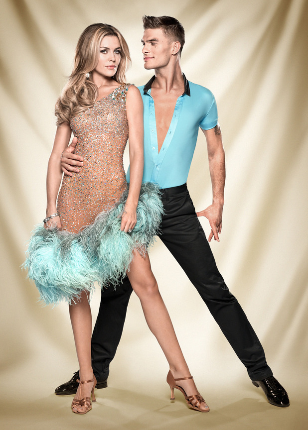 Strictly Come Dancing official couples photos: Abbey Clancy, Aljaz Skorjanec
