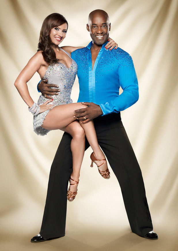 Strictly Come Dancing official couples photos: Anya Garnis, Patrick Robinson