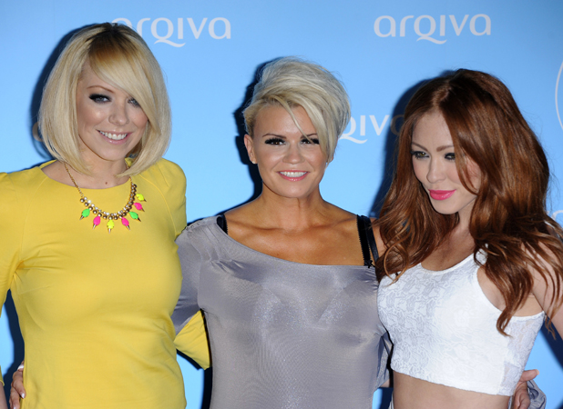 Arqiva Commercial Radio Awards held at the Park Plaza Westminster Bridge - Arrivals PersonInImage:	Liz McClarnon, Kerry Katona, Natasha Hamilton, Atomic Kitten Credit :	WENN.com Special Instructions :