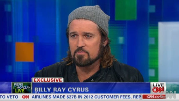Billy-Ray Cyrus on Piers Morgan Live, 19 September 2013