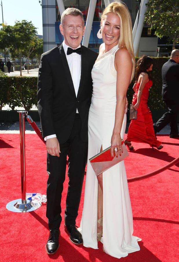 2013 Primetime Creative Arts Emmy Awards, Los Angeles, America - 15 Sep 2013 Patrick Kielty and Cat Deeley