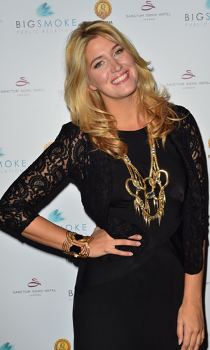 Big Smoke PR launch party at the Sanctum Soho Hotel PersonInImage:Francesca Hull Date Created :09/18/2013