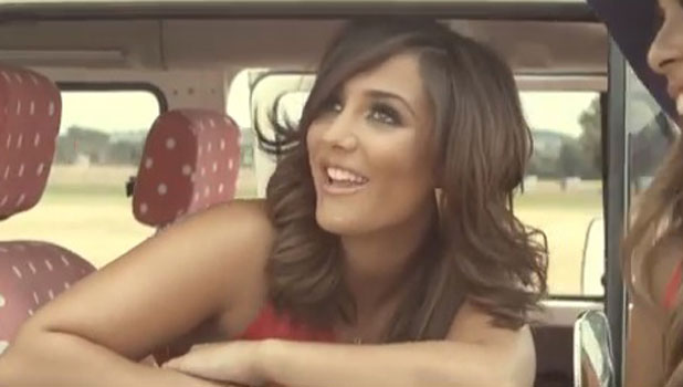 Frankie Sandford in The Saturdays' Disco Love video