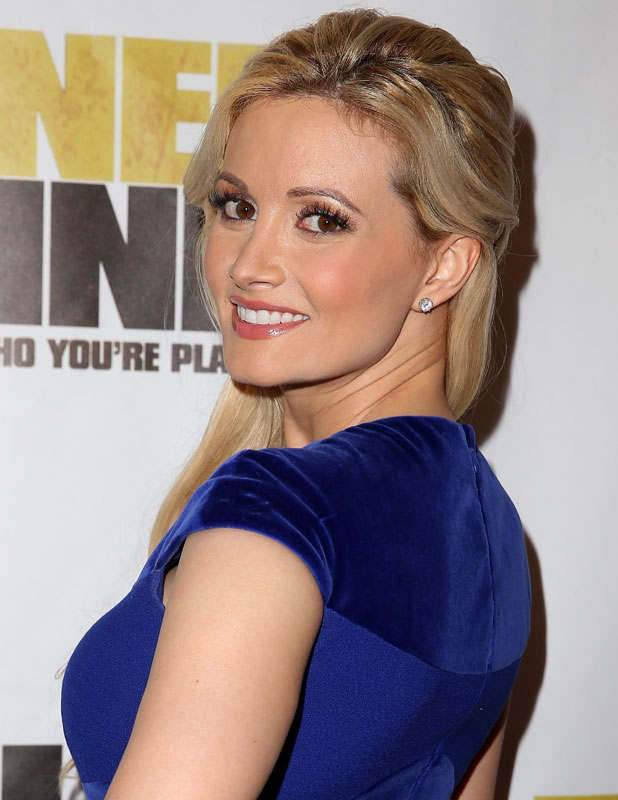 Holly Madison at Runner Runner premiere at Planet Hollywood Resort and Casino Las Vegas, 18 September 2013