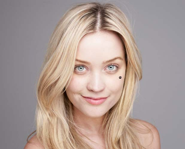Laura Whitmore going BearFaced for BBC Children in Need 2013