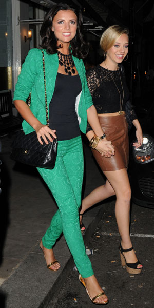 Lucy Mecklenburgh in London, 18 September 2013