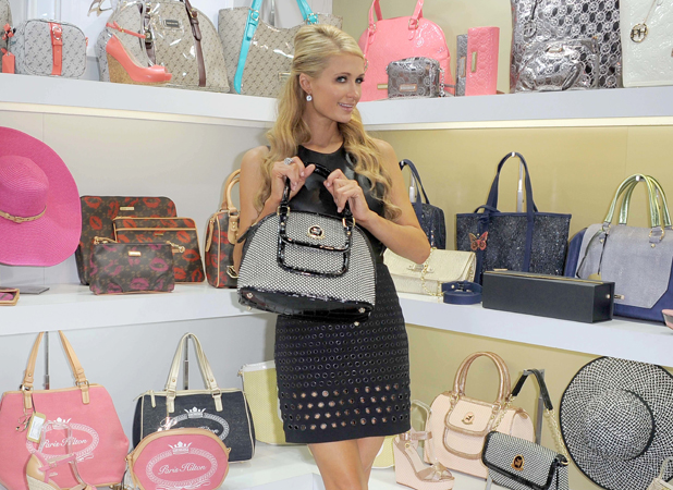 Paris Hilton's Boutique Bag Spring/Summer 2014 Collection Presentation To Milano Mipel Credit :	WENN.com Special Instructions :	Not available for publication in Italy Date Created : 09/15/2013 Location : Milan, Italy