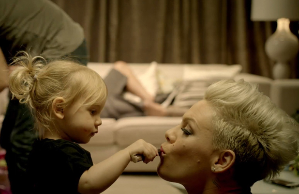 Pink latest video 'True Love' featuring daughter Willow