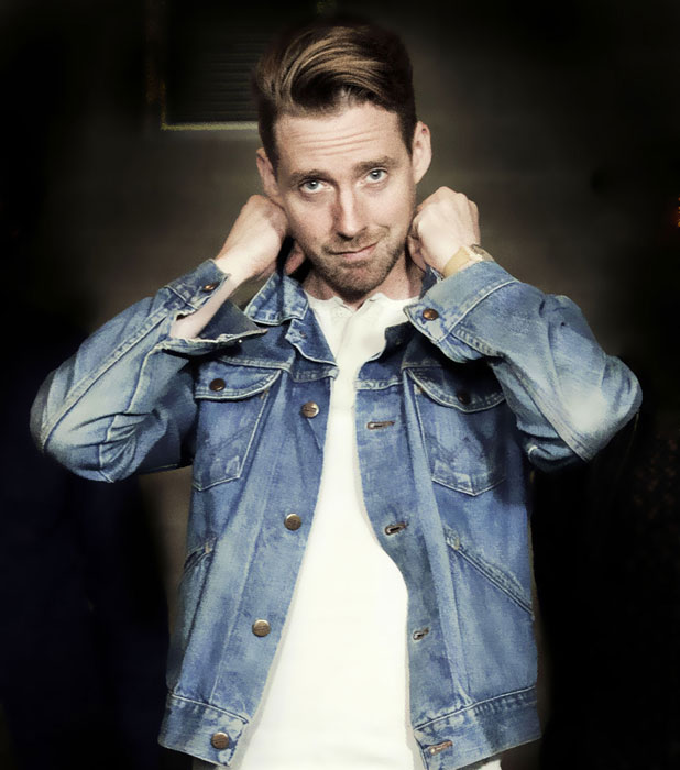 Ricky Wilson as a coach for The Voice UK series three