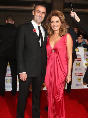 Carol Vorderman and boyfriend Graham Duff, The Daily Mirror Pride of Britain Awards 2012 held at London's Grosvenor House hotel, 29.10.12