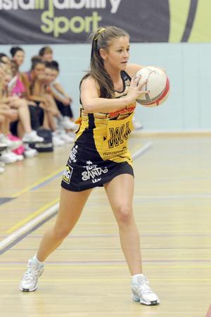 Coronation Street v Emmerdale Charity Netball Match, Manchester, Britain - 22 Sep 2013 Brooke Vincent