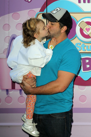 "Disney Junior is bringing the role-modeling messages of its acclaimed animated series ""Doc McStuffins"" Held at The Grove Joey Fatone, Khloey Fatone - 26.9.2013"