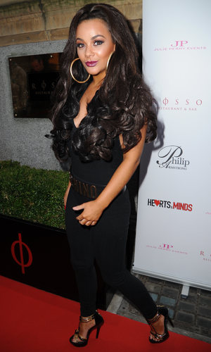 Celebrities attend Hearts & Minds Charity's Unique Fashion Experience held at Rosso Restaurant Manchester Chelsee Healey - 25.9.2013