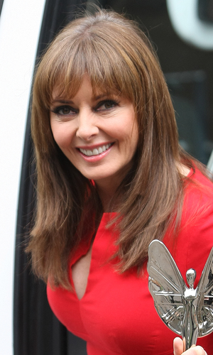 Carol Vorderman at the ITV Studios, October 2013