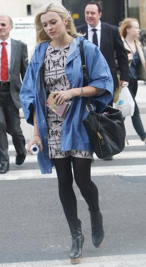 Fearne Cotton Leaving BBC Radio1, London - 26 September 2013