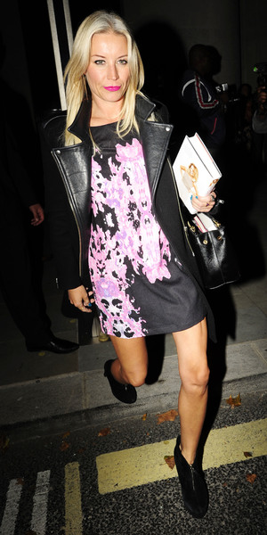 Kimberley Walsh Book Signing Caption:Book launch party for Kimberley Walsh 'A Whole Lot Of History' at Hotel ME - Departures Denise van Outen Credit :WENN.com