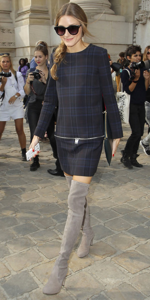 Olivia Palermo - Paris Fashion Week Carven Spring/Summer 2014 - 26 September