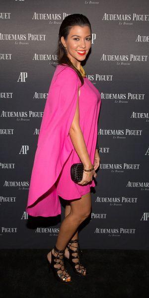Kourtney Kardashian attends as Audemars Piguet celebrates brand ambassador Lebron James, Miami Beach, America - 27 Sep 2013