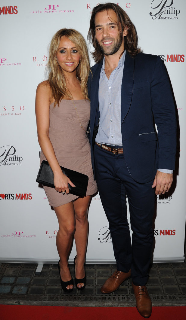 Celebrities attend Hearts & Minds Charity's Unique Fashion Experience held at Rosso Restaurant Manchester Samia Ghadie and Sylvain Longchambon Credit: Steve Searle/WENN.com Date Created: 09/25/2013 Location: Manchester, United Kingdom