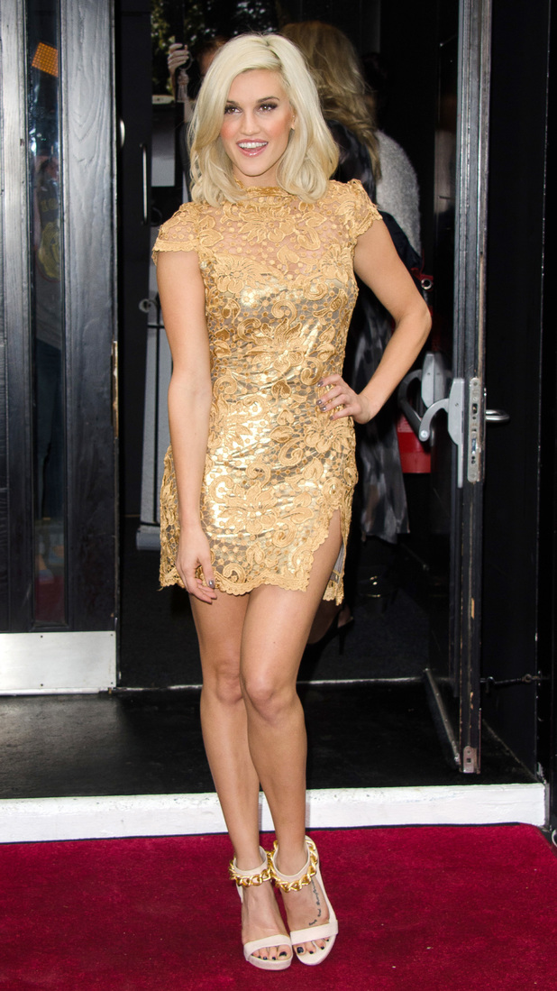 Ashley Roberts launches new Key Fashion range in London 25/09/13