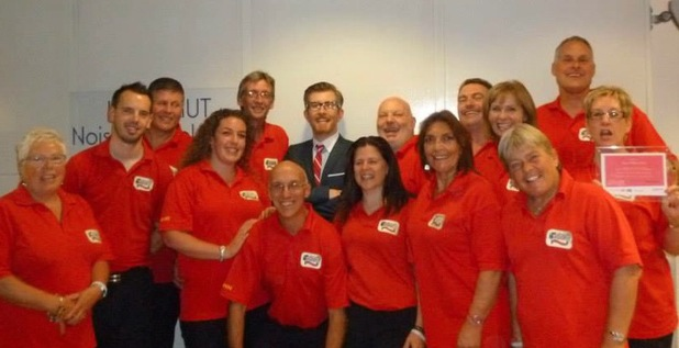 Gareth Malone visits Royal Mail postal workers in Bristol - September 2013
