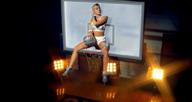 Miley Cyrus in 23 music video