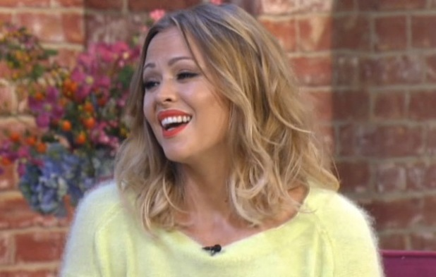 Kimberley Walsh appears on This Morning - 23 September 2013