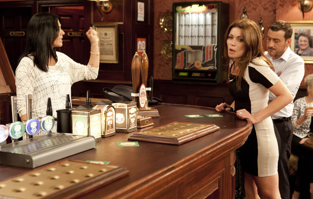 Corrie, Michelle argues with Carla, Fri 27 Sep