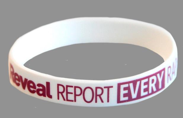 Report Every Rape Wristband