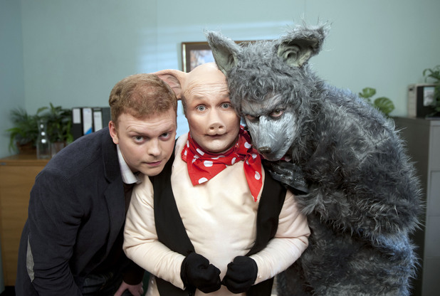 The Ginge, The Geordie and The Geek, BBC3, Sun 29 Sep