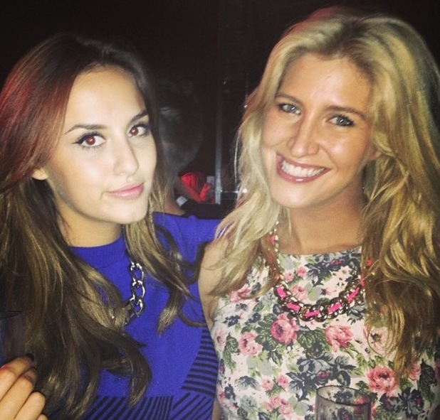 Andy Jordan, Cheska Hull and Lucy Watson party in Tiger Tiger, Manchester - 25 September 2013